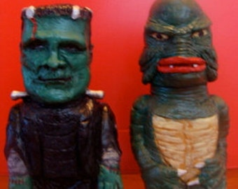 Monster And Sea-Monster S/P shakers(standard Size)*Made To Order*