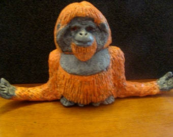 Orangutan-jar functional-art sculpture*Made To Order*