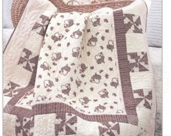 Updown Baby Quilt Pattern by Bunny Hill Baby Designs 1042