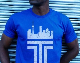 RETRO STYLE TORONTO tshirt (Blue)
