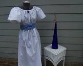 Girls Jane Austen Regency Dress with Sash costume all colors Titanic Edwardian
