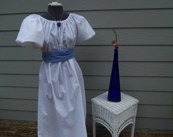 Girls Jane Austen Regency Dress Medieval Renassiance Celtic Gown Titanic Edwardian