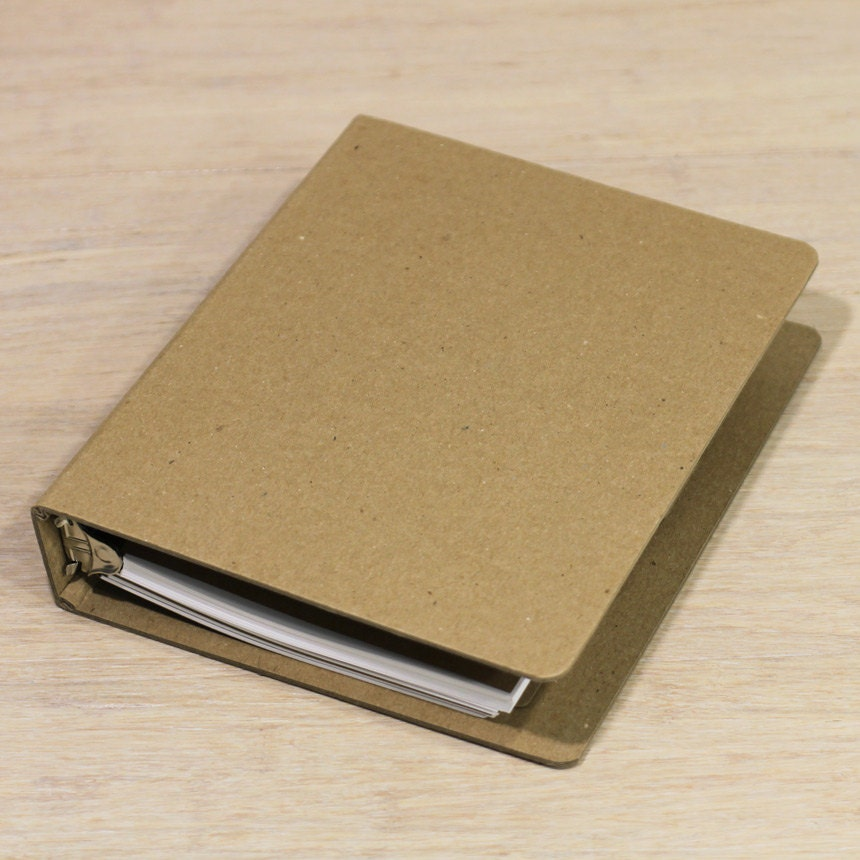 Small  Ring Binder Planner