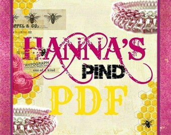 PDF Chainmail Tutorial - Hanna's Pind - Intermediate and Experienced - DELUXE Instructions