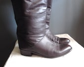 Brown Slouchy Boot 8.5
