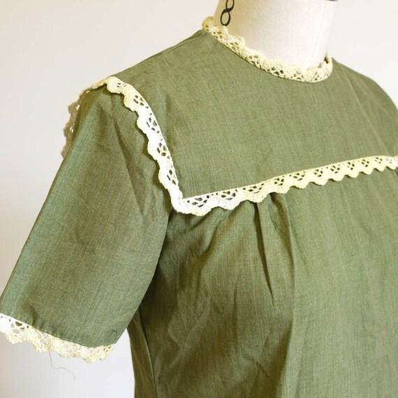 50s school girl shift Mini Dress.