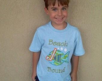 Snorkel Fish Appliqued Shirt