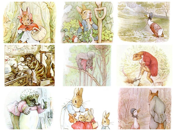 423 Beatrix Potter Images From Peter Rabbit Squirrel Nutkin