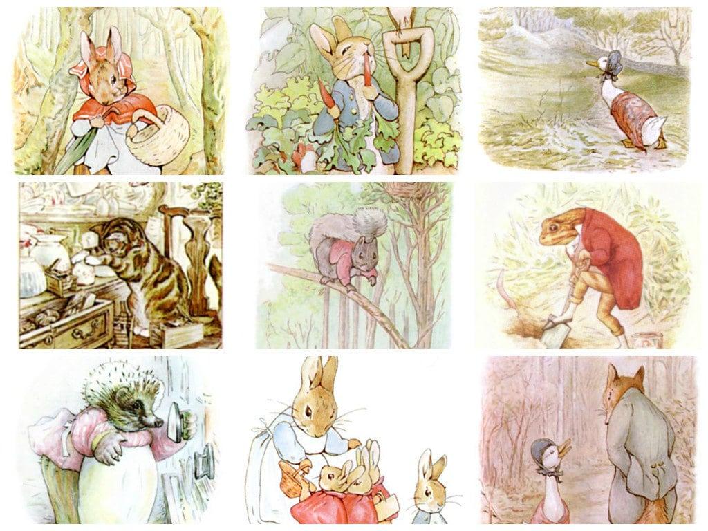 423 beatrix potter images from peter rabbit squirrel nutkin zoom