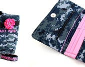 Reserved Navy Wallet Listing for Courtney
