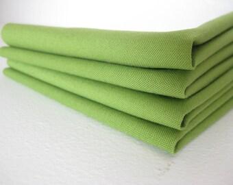 Cloth Napkins - Peridot - 100% Cotton