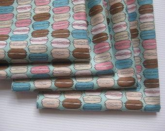 Cloth Napkins - Macarons - Cream or Mint - 100% Cotton Napkins