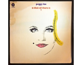 Glittered Peggy Lee ls That All There Is Abum