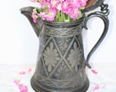 Victorian Silver Plate Water Server Water Pitcher SALE