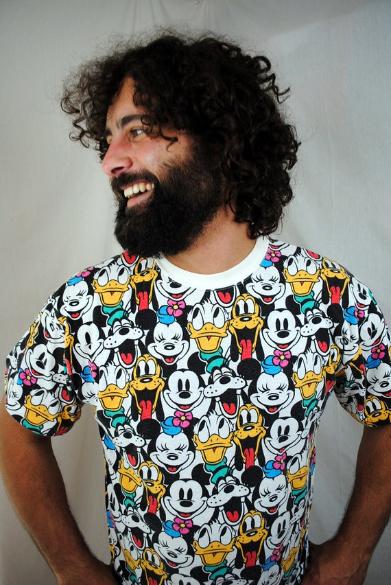 Vintage 80s Awesome Mickey Mouse Tee
