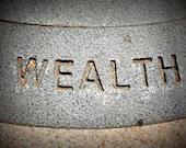 Photography Print Stone Wealth