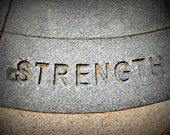Stone Strength Note Cards (Set of 4)