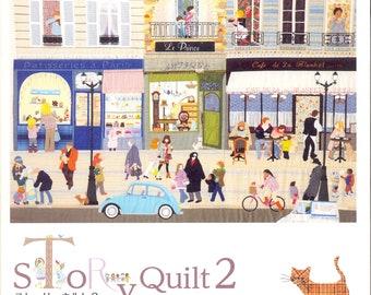 Master Yukari Takahara Collection - Story Quilt 02 - Japanese craft book