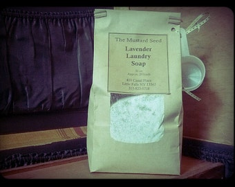 All Natural Lavender Laundry Soap