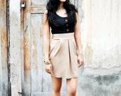 Sleeveless Mini Dress Petite Day Short Party Bow Black Ruched Beige Sundress Summer Fashion Etsy Gift