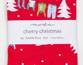 Cherry Christmas by Aneela Hoey -  Charm Pack