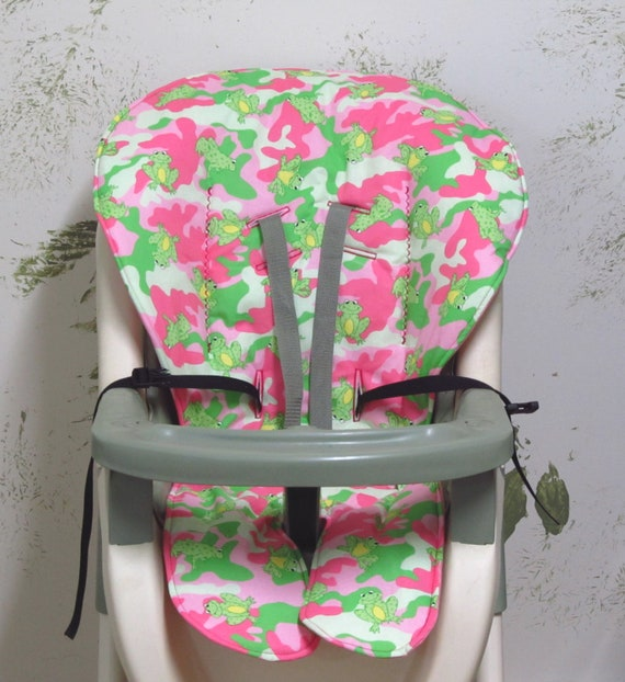 Graco High Chair Cover Replacement Pad Pink Camofrogs