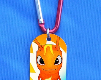 SLUGTERRA Infurnus BURPY or Keychain of Your Choice