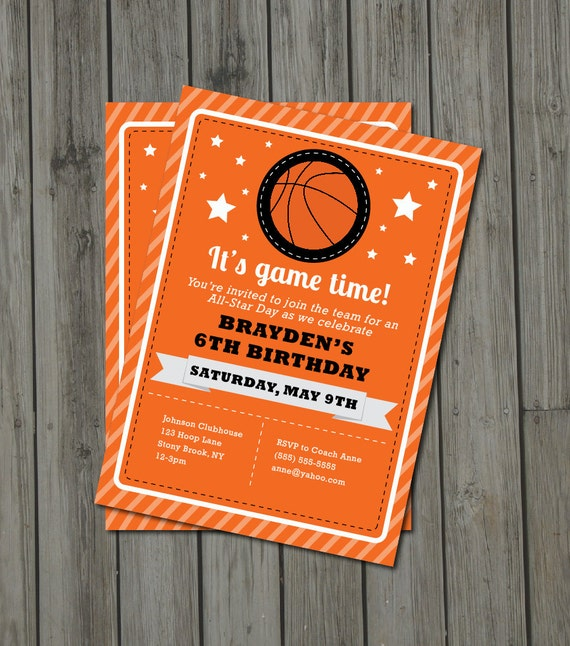 Basketball Party Invitations correctly perfect ideas for your invitation layout