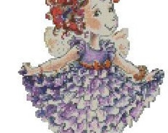 Fancy Nancy - Dancing Cross Stitch Kit