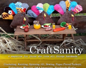 SALE! CraftSanity Magazine Issue 8 Print Edition