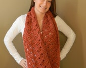 Crochet Zoe Cowl - Pattern Only - permission to sell what you make