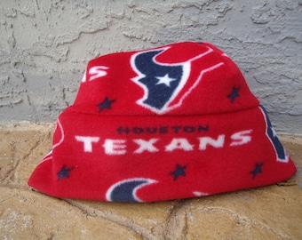Houstan Texans Fleece Hat NFL Fits Baby, Kids & Adults