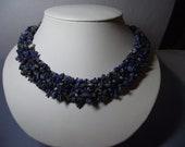 THICK Lapis Lazuli Necklace