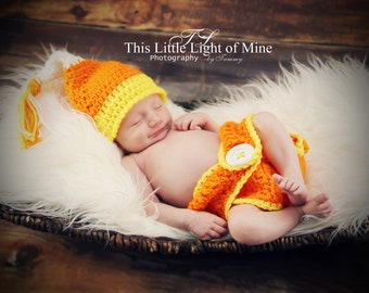 Baby Halloween Costume - Candy Corn Costume - Baby Photo Prop - Newborn Photo Prop - Baby Halloween costume - Baby Costume - Halloween