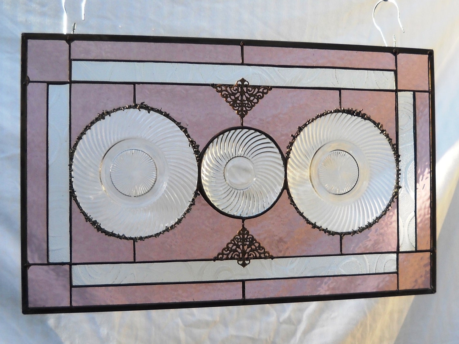 1930s Depression Glass Plate Home Decor Heritage By Heritagedishes