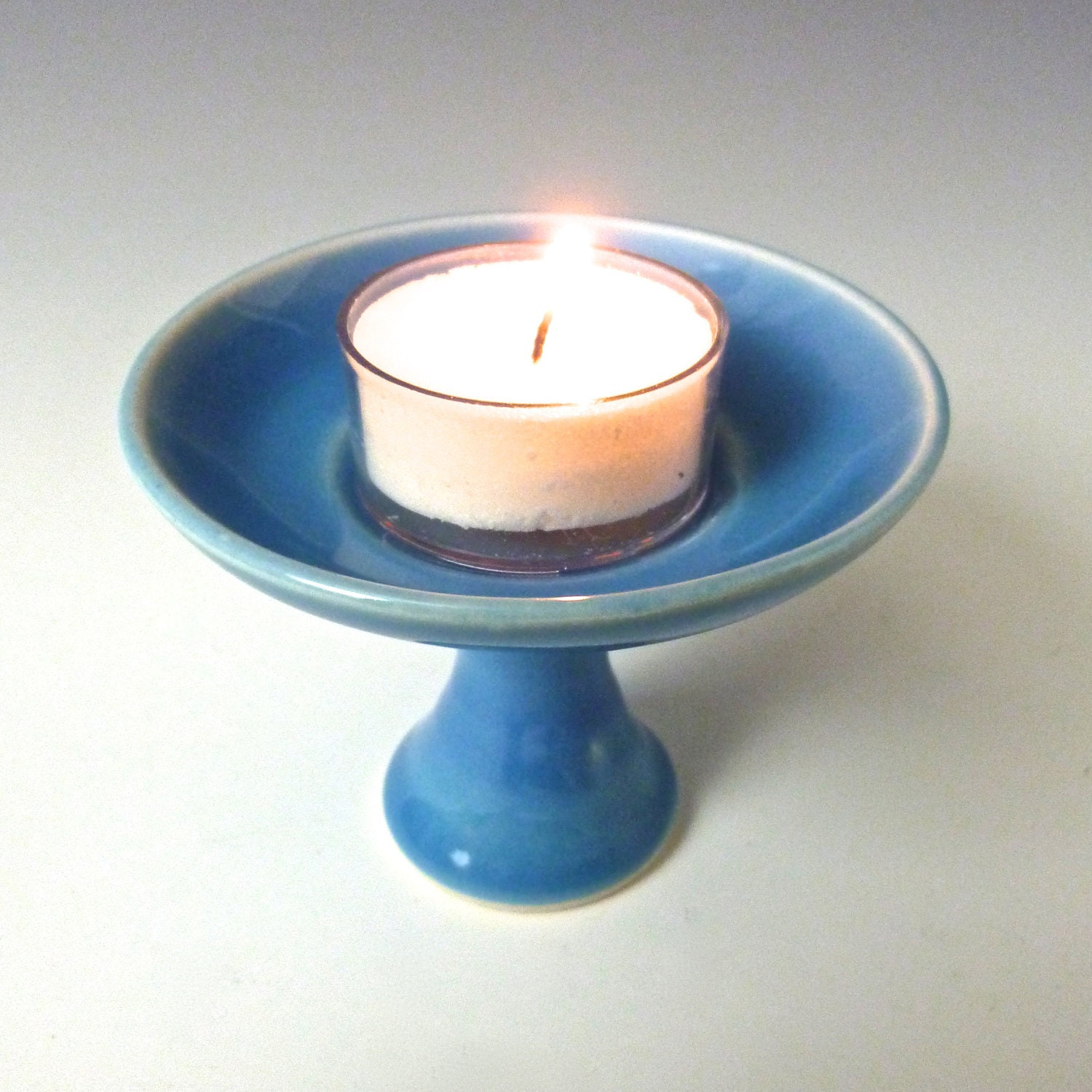 Our Symbol The Flaming Chalice: Personal Chalice UU Bonnie Blue