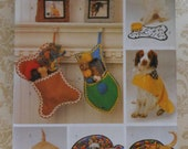 Pet Beds Stockings Mats Sewing Pattern Uncut Butterick 6797 hat frame raincoat dog cat accessories