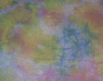 Hand Dyed Cotton Fabric 1 Yard