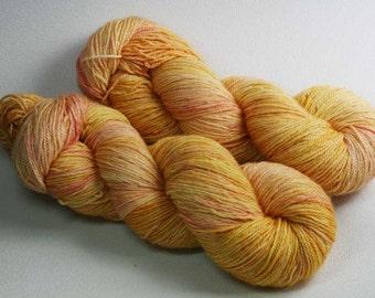 Novantae - hand dyed Sarmatia Sock yarn - BFL silk cashmere - 100g