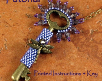 Tutorial and Key: Classy Key Necklace (Small)