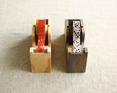 Wood Tape Dispenser for Japanese Washi Masking Tapes