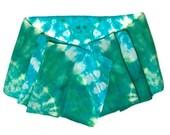 Teal Green Hand Dyed Silk Scarf - SilkMari