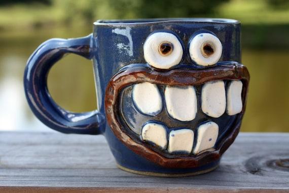 Cool Coffee Cups, Blue Coffee Mug