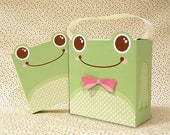 Cute Frog Giftbox Printable PDF
