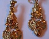 Gorgeous Goldtone Chandeliere Earrings