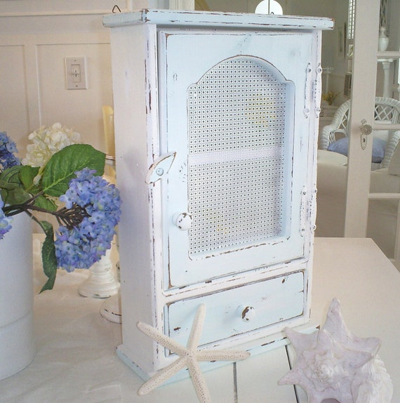 Shabby Chic Medicine Cabinet Wall Shelf