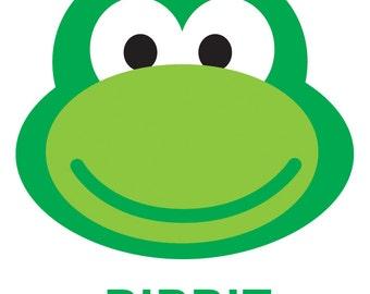 Ribbit Frog Children's Tee