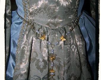 Gilded Butterflies Girdle Belt for Children's Size Renaissance costume dress