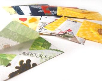 Handmade Envelopes from Japanese Gift Set Wrap (Set of 14)