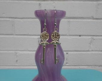 The Sacred Keys Earrings